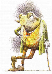 Toad of wind in the willows