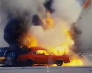 death car on the freeway movie film hal needham