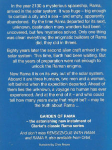 garden of rama book review arthur c clarke and gentry lee