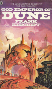 God Emperor of Dune book cover review