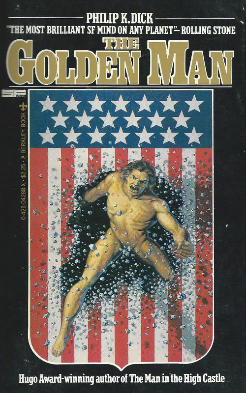 the golden man book review philip k dick