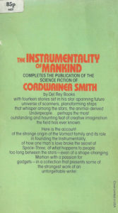 the instrumentality of mankind cordwainer smith book cover review