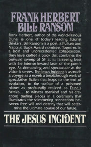the jesus incident book cover frank herbert bill ransom sci fi