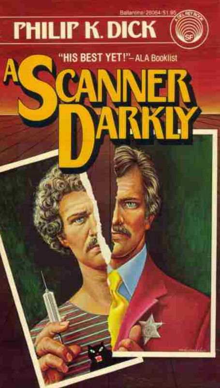 a scanner darkly cover book philip k dick