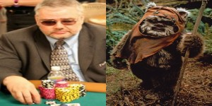 chris bigler looks like a animal - ewok