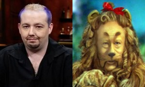 david peat cowardly lion poker spirit guides and players who look like animals