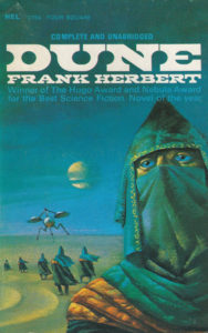 dune book review frank herbert front book cover