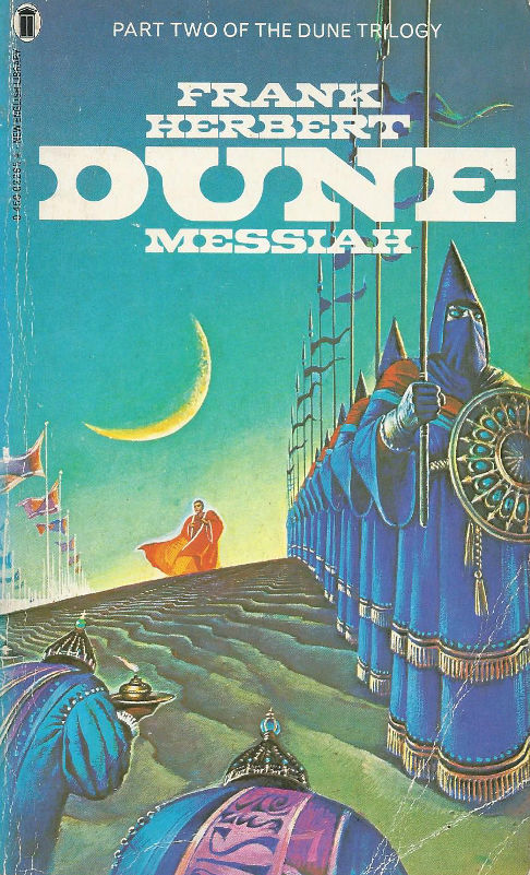 dune messiah book frank herbert front cover