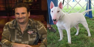 mike matusow looks like a animal - dog