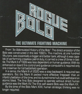rogue bolo keith laumer tank mark xxx caesar csr
