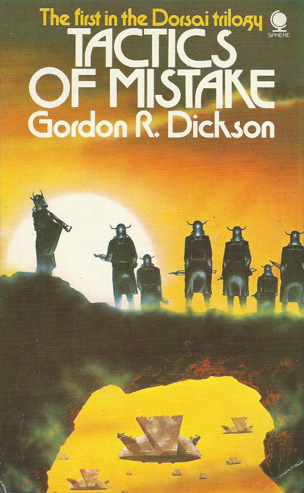 tactics of mistake gordon r dickson science fiction old book