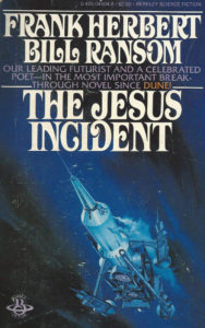 the jesus incident book frank herbert hard science fiction