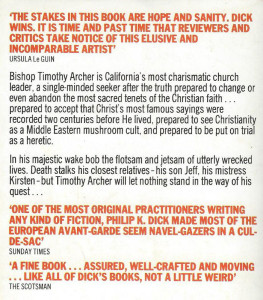 the transmigration of timothy archer cover sci fi philip k dick stories