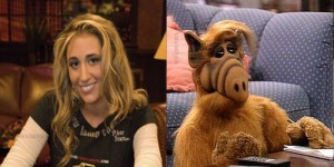vanessa rousso looks like a animal - alf
